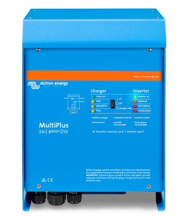 MultiPlus 24/3000/70-50 230V VE.Bus*If 0, order PMP242301011