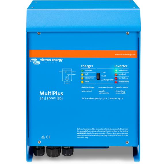 MultiPlus 24/3000/70-50 230V VE.Bus*If 0, order PMP242301011