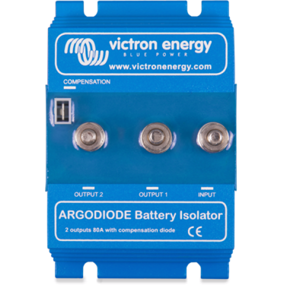 Argodiode 160-2AC 2 batteries 160A