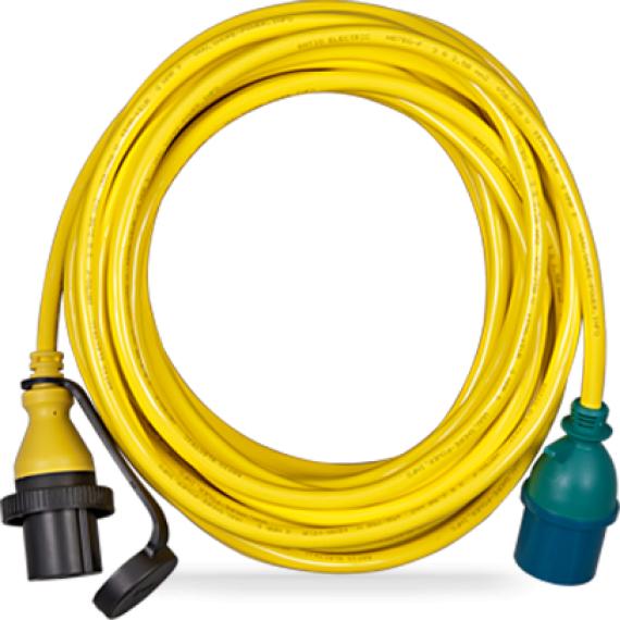 Adapter Cord 16A/250V-Schuko plug/CEE Coupling
