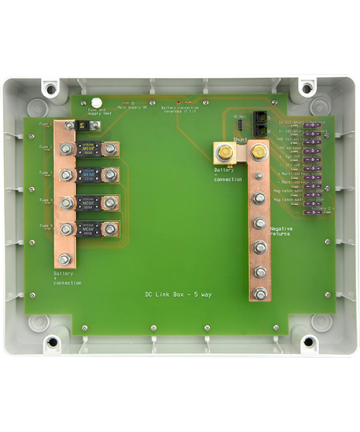 ESP DC Link Box - S (in plastic enclosure) - 5 way