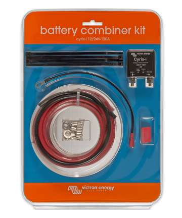 Cyrix-ct 12/24V-120A Battery Combiner Kit Retail