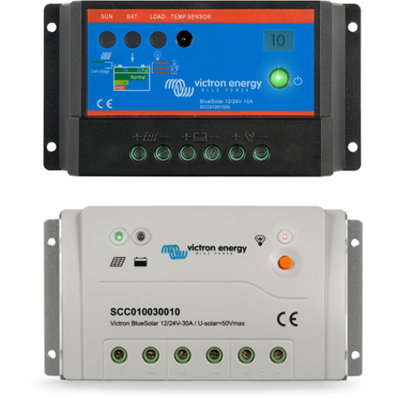 BlueSolar PWM-Light Charge Controller 12/24V-5A