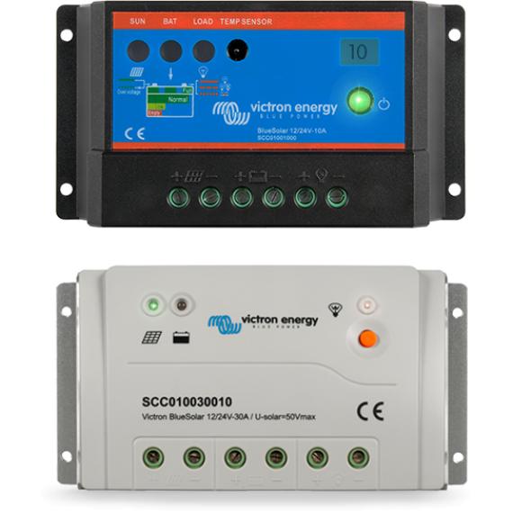 BlueSolar PWM-Light Charge Controller 48V-10A