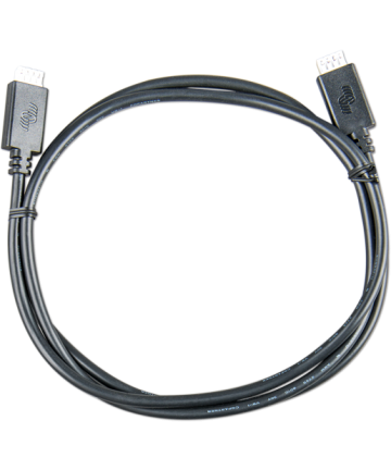 VE.Direct Cable 0,9m (one side Right Angle conn)