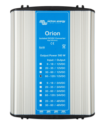 Orion 110/12-30A (360W) Isolated DC-DC converter