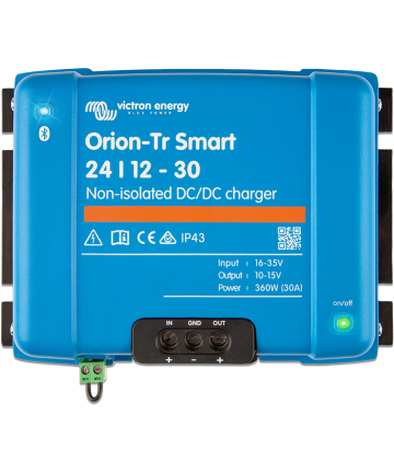 Orion-Tr Smart 12/24-15A (360W) Non-isolated DC-DC charger